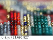 Фрагмент вышивки бисером. Стоковое фото, фотограф Алексей Лобанов / Фотобанк Лори