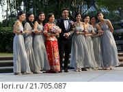 Hong Kong, China, wedding party (2013 год). Редакционное фото, агентство Caro Photoagency / Фотобанк Лори