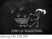 Купить «investor capitalist, selecting ideas and start-ups to invest on», фото № 21716767, снято 19 июня 2018 г. (c) PantherMedia / Фотобанк Лори
