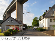 Купить «Siegen, Germany, Siegtalbruecke the A45 near Siegen», фото № 21731059, снято 27 мая 2015 г. (c) Caro Photoagency / Фотобанк Лори