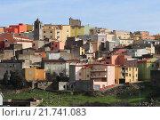 Купить «Tirei village located on a mountain ridge, Italy», фото № 21741083, снято 5 января 2008 г. (c) Caro Photoagency / Фотобанк Лори