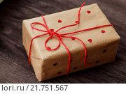 Подарок ко дню влюбленных. Стоковое фото, фотограф Евгения Воробьева / Фотобанк Лори