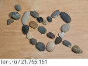 Сердце из камней. Стоковое фото, фотограф Дмитрий Загурский / Фотобанк Лори