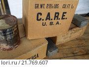 Купить «Berlin, Germany, care packages on the former Tempelhof Airport», фото № 21769607, снято 8 мая 2010 г. (c) Caro Photoagency / Фотобанк Лори