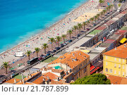 Купить «Nice, French Riviera», фото № 21787899, снято 20 июня 2019 г. (c) PantherMedia / Фотобанк Лори