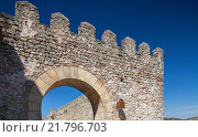 Купить «Siguenza, Spain Detail of the Castillo de Sigueenza», фото № 21796703, снято 12 августа 2010 г. (c) Caro Photoagency / Фотобанк Лори