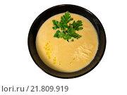 Купить «Тыквенный суп», фото № 21809919, снято 4 февраля 2016 г. (c) Мария Козаченко / Фотобанк Лори