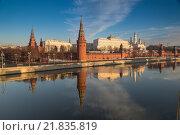 Купить «Москва. Кремль. Водовзводная башня», фото № 21835819, снято 29 ноября 2015 г. (c) Соболев Игорь / Фотобанк Лори