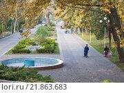Городской сад в Краснодаре (2015 год). Редакционное фото, фотограф Елена Ганненко / Фотобанк Лори