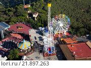 Купить «Tibidabo Amusement Park in Barcelona», фото № 21897263, снято 29 августа 2015 г. (c) Яков Филимонов / Фотобанк Лори