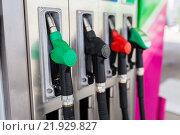 Купить «Топливные насосы», фото № 21929827, снято 9 июля 2014 г. (c) Рустам Шигапов / Фотобанк Лори