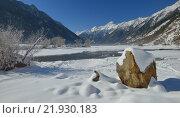 Купить «Зима на Кавказе», фото № 21930183, снято 23 февраля 2016 г. (c) александр жарников / Фотобанк Лори