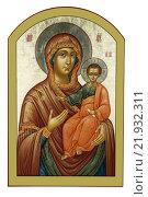 Икона Божией матери. Стоковое фото, фотограф Александр Носков / Фотобанк Лори