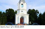 Купить «Holy Assumption Church in Rechitsa, Belarus», видеоролик № 21933091, снято 27 декабря 2015 г. (c) BestPhotoStudio / Фотобанк Лори