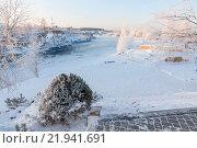 Купить «Корабли на зимней стоянке», фото № 21941691, снято 9 января 2016 г. (c) Михаил Кочиев / Фотобанк Лори