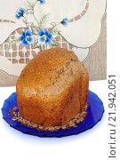 Купить «Хлеб из хлебопечки», эксклюзивное фото № 21942051, снято 12 февраля 2016 г. (c) Blekcat / Фотобанк Лори