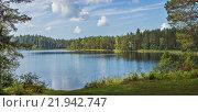 Купить «Озеро Островитное, исток реки Лудвица (Лочкина)», эксклюзивное фото № 21942747, снято 6 сентября 2014 г. (c) Абрамова Ксения / Фотобанк Лори