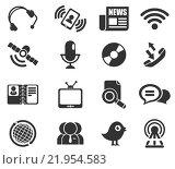 Купить «Communication icons», иллюстрация № 21954583 (c) PantherMedia / Фотобанк Лори