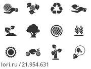 Купить «Ecology Icons», иллюстрация № 21954631 (c) PantherMedia / Фотобанк Лори