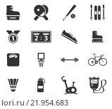 Купить «Sport simply icons», иллюстрация № 21954683 (c) PantherMedia / Фотобанк Лори