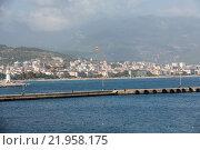 Купить «Alanya - the beach of Aladdin .  Alanya is one of most popular seaside resorts in Turkey», фото № 21958175, снято 28 мая 2018 г. (c) PantherMedia / Фотобанк Лори