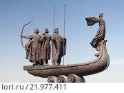Купить «Памятник основателям Киева», фото № 21977411, снято 20 апреля 2018 г. (c) megastocker / Фотобанк Лори