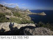 Купить «Живописный Крымский пейзаж», эксклюзивное фото № 22103143, снято 18 октября 2015 г. (c) Яна Королёва / Фотобанк Лори