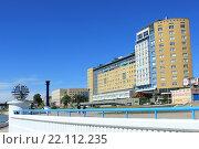 Купить «Город Омск, Иртышская набережная», фото № 22112235, снято 29 июня 2014 г. (c) Виктор Топорков / Фотобанк Лори