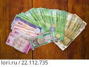Деньги Шри-Ланки (2016 год). Стоковое фото, фотограф Василий Вострухин / Фотобанк Лори