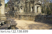 Купить «Храмы в Ангкор-Ват, Камбоджа», видеоролик № 22138699, снято 11 марта 2016 г. (c) Михаил Коханчиков / Фотобанк Лори