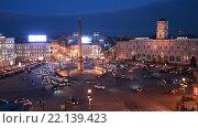 Купить «Санкт-Петербург. Вид сверху на площадь Восстания», эксклюзивный видеоролик № 22139423, снято 11 марта 2016 г. (c) Литвяк Игорь / Фотобанк Лори