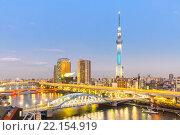 Tokyo skytree. Стоковое фото, фотограф Vichaya Kiatying-Angsulee / PantherMedia / Фотобанк Лори