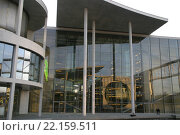 regierungsviertel berlin bundestag skyline capital. Стоковое фото, фотограф Günter Meißner / PantherMedia / Фотобанк Лори