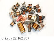 Радиоэлементы - набор трансформаторов. Стоковое фото, фотограф Николай Грушин / Фотобанк Лори