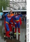 Сбор суперменов (2015 год). Редакционное фото, фотограф Сергей Марчук / Фотобанк Лори