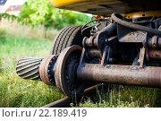 Купить «Railway construction equipment including hyralic shovel on rails.», фото № 22189419, снято 2 июля 2014 г. (c) easy Fotostock / Фотобанк Лори