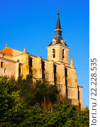 Collegiate church of San Pedro in Lerma. Стоковое фото, фотограф Яков Филимонов / Фотобанк Лори