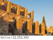 Купить «Sinan Pasha Mosque, formerly Church of Sts. Peter and Paul (1359), Famagusta, Northern Cyprus.», фото № 22252343, снято 30 ноября 2015 г. (c) age Fotostock / Фотобанк Лори
