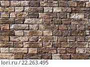 Купить «stone wall background», фото № 22263495, снято 15 декабря 2018 г. (c) PantherMedia / Фотобанк Лори
