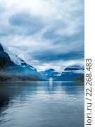 Купить «Cruise Liners On Hardanger fjorden», фото № 22268483, снято 18 июня 2015 г. (c) Андрей Армягов / Фотобанк Лори