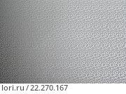 Текстура серой атласной ткани с абстрактным тиснением. Стоковое фото, фотограф Евгений Захаров / Фотобанк Лори