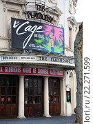 Театр в Лондоне (2009 год). Редакционное фото, фотограф Валерия Паули / Фотобанк Лори