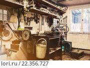 Купить «real domestic home  DIY workshop», фото № 22356727, снято 5 июля 2020 г. (c) PantherMedia / Фотобанк Лори