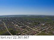 Поселок в Томской области. Стоковое фото, фотограф Кирилл Золотаев / Фотобанк Лори