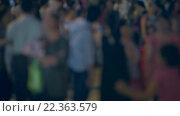 Купить «Defocused Blurry City Nightlife at real time», видеоролик № 22363579, снято 27 марта 2016 г. (c) Александр Подшивалов / Фотобанк Лори
