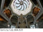 Купить «Интерьер московской соборной мечети», фото № 22384531, снято 28 марта 2016 г. (c) Владимир Журавлев / Фотобанк Лори