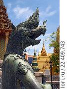 Купить «Таиланд. Бангкок. Королевский дворец.», фото № 22409743, снято 11 августа 2015 г. (c) Евгений Тиняков / Фотобанк Лори