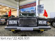 Купить «Лимузин ЗИЛ-115 (ЗИЛ-4104). Сочи Автомузей», эксклюзивное фото № 22426931, снято 7 февраля 2016 г. (c) Сергей Лаврентьев / Фотобанк Лори