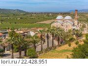 Isa Bey Mosque, Ephesus, Selcuk, Izmir Province, Turkey. Стоковое фото, фотограф Ivan Vdovin / age Fotostock / Фотобанк Лори