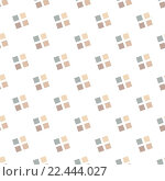 Купить «Seamless Colorful Abstract Pattern from Repetitive Concentric Squares», иллюстрация № 22444027 (c) PantherMedia / Фотобанк Лори